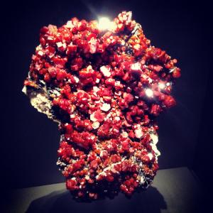 Mineral Vanadinite from the Phosphates, Vanadates & Arsenates class. The mineral originates from Morocco.