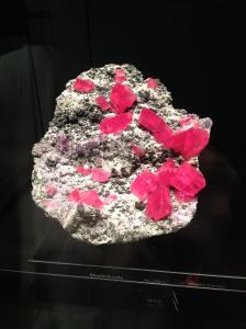 Rhodochrosite mineral.