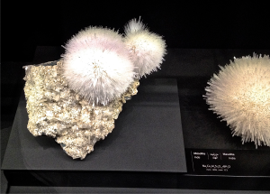 Mesolite mineral from India.