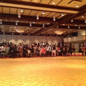 The EWB conference ended with music and a dance floor!