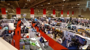Part of the Trade Show at the Metro Toronto Convention Centre
